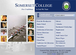Somerset College - Broadnet web design and web hosting on the gold coast